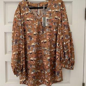 Brand new mushroom blouse